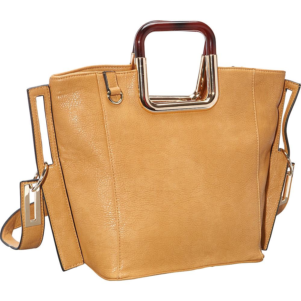 Ann Creek Square Eye Tote Yellow Ann Creek Manmade Handbags