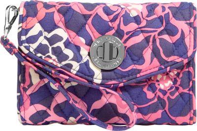 Vera Bradley Your Turn Smartphone Wristlet Katalina Pink - Vera Bradley Ladies Wallet on a String