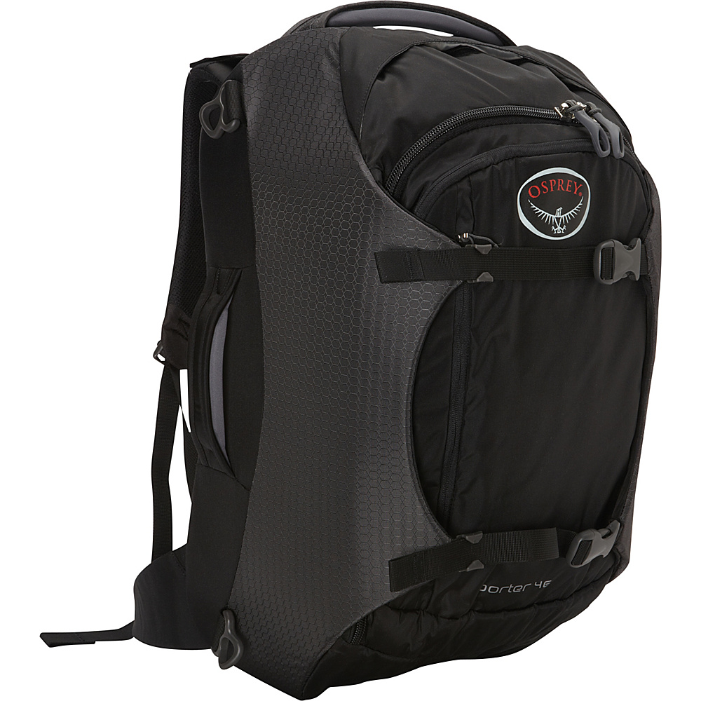 Osprey Porter 46 Travel Backpack Black - Osprey Travel Backpacks