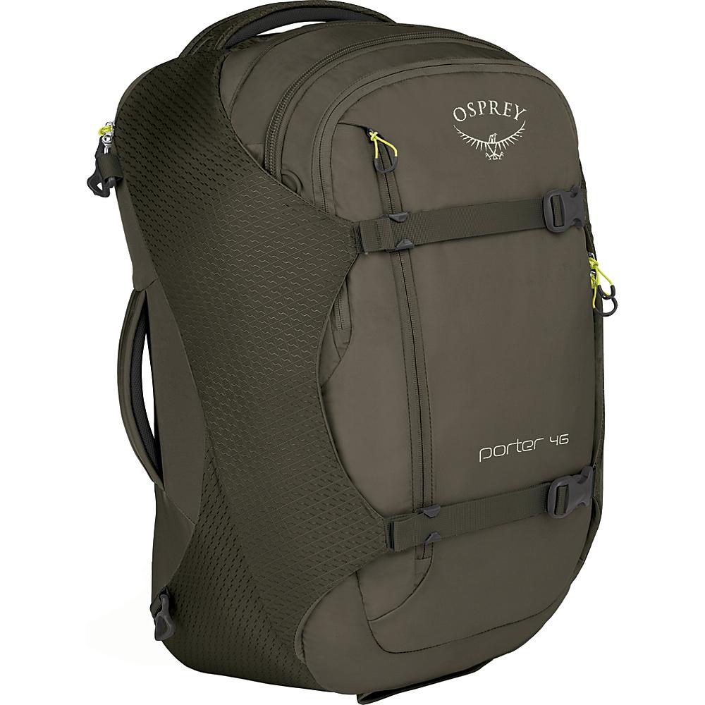 Osprey Porter 46 Travel Backpack Castle Grey - Osprey Travel Backpacks - Backpacks, Travel Backpacks