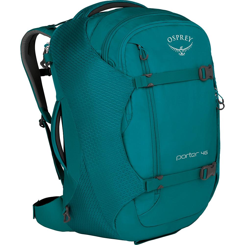 Osprey Porter 46 Travel Backpack Mineral Teal - Osprey Travel Backpacks - Backpacks, Travel Backpacks