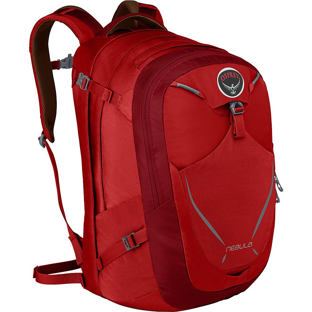 Osprey Nebula Laptop Backpack Robust Red - Osprey Business & Laptop Backpacks - Backpacks, Business & Laptop Backpacks