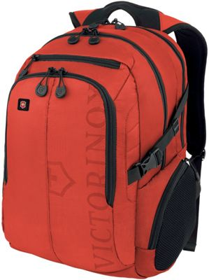 Victorinox VX Sport Pilot Laptop Backpack Red - Victorinox Business & Laptop Backpacks
