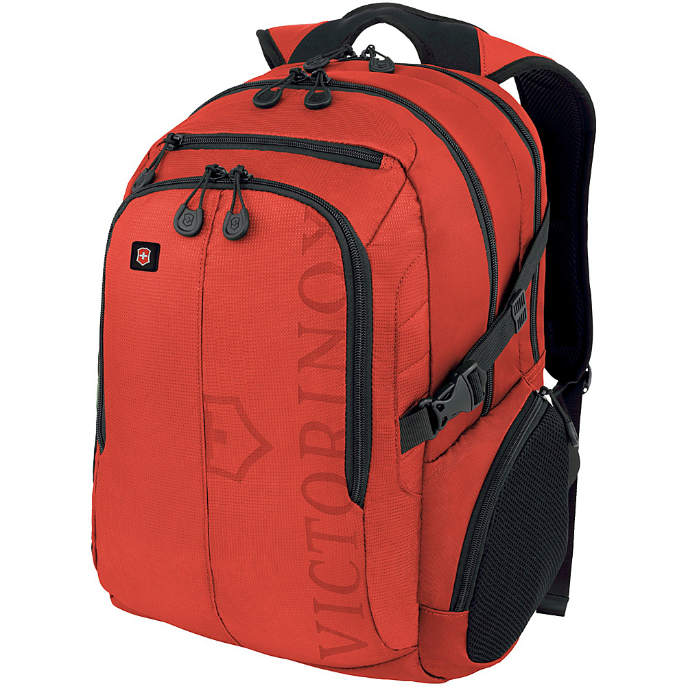 Victorinox VX Sport Pilot Laptop Backpack Red Victorinox Business Laptop Backpacks
