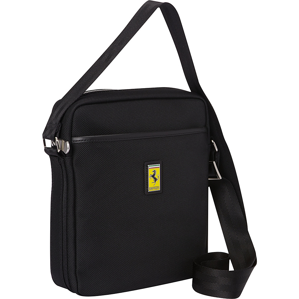 Ferrari Luxury Collection Utility Cross Body Medium Shoulder Bag Blacks - Ferrari Luxury Collection Messenger Bags