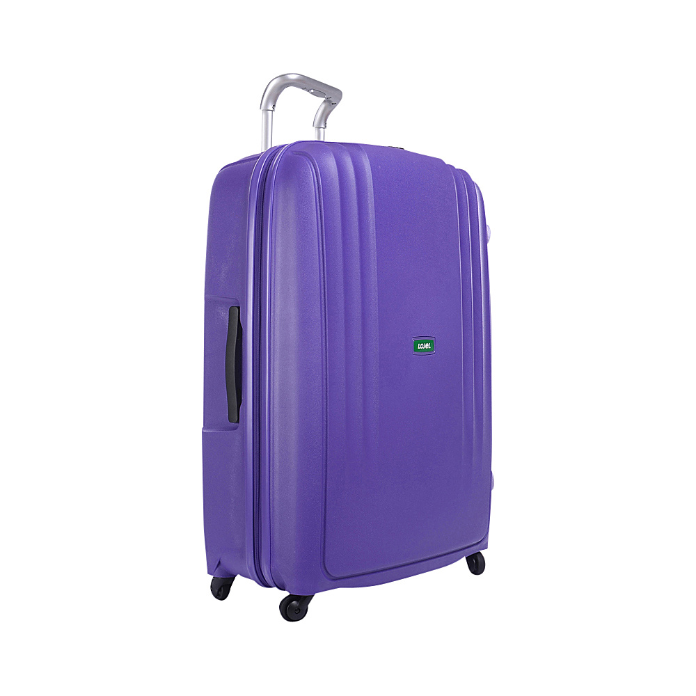 Lojel Streamline Medium Luggage Purple Lojel Hardside Checked