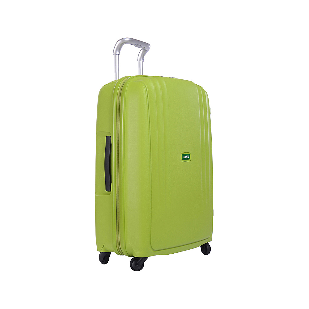 Lojel Streamline Medium Luggage Green Lojel Hardside Checked