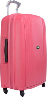 Lojel Streamline Medium Luggage Pink - Lojel Hardside Checked