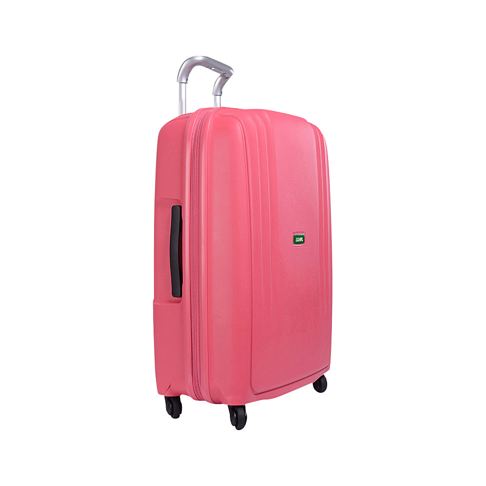Lojel Streamline Medium Luggage Pink Lojel Hardside Checked