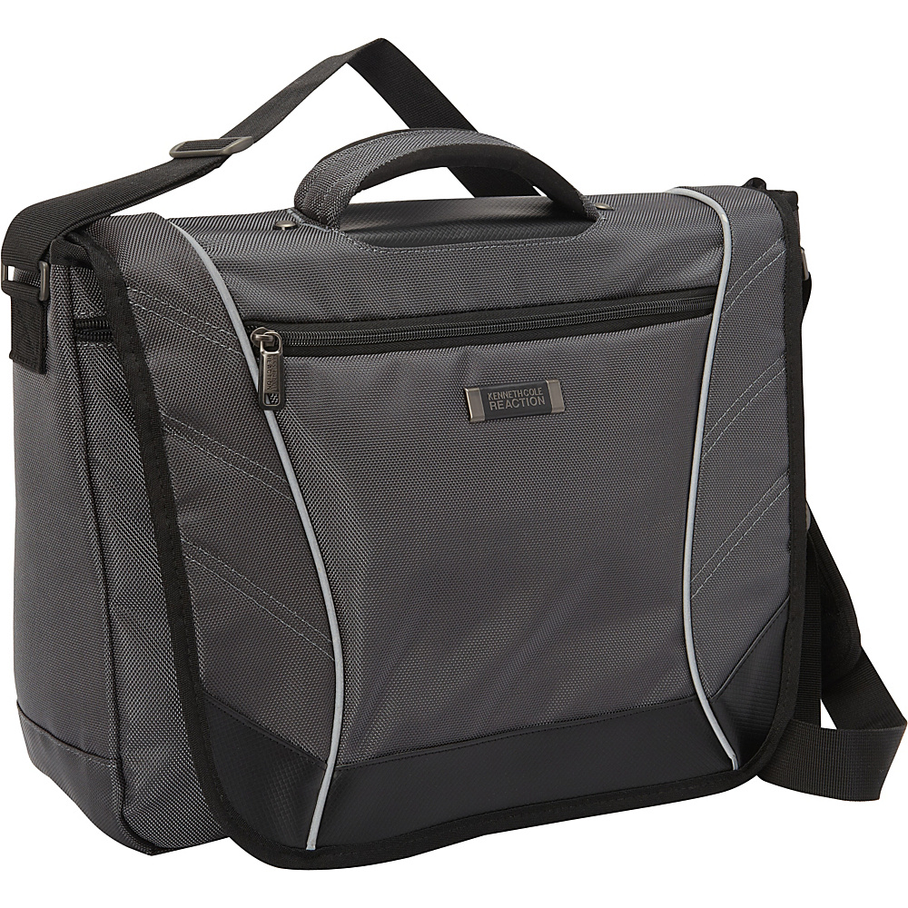 Kenneth Cole Reaction Rock Paper Scissors Laptop Messenger Charcoal Kenneth Cole Reaction Messenger Bags