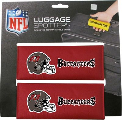 Luggage Spotters Luggage Spotters NFL Tampa Bay Buccaneers Red - Luggage Spotters Luggage Accessories