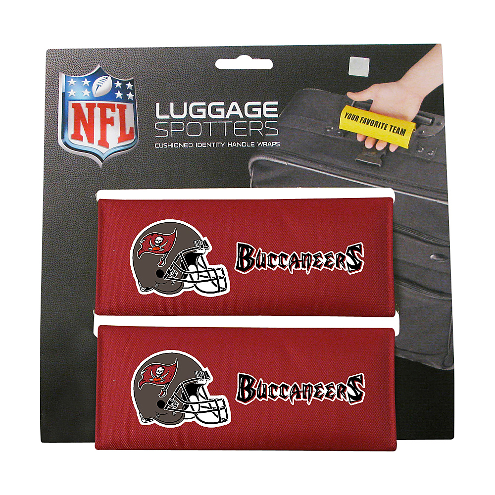 Luggage Spotters NFL Tampa Bay Buccaneers Red Luggage Spotters Luggage Accessories