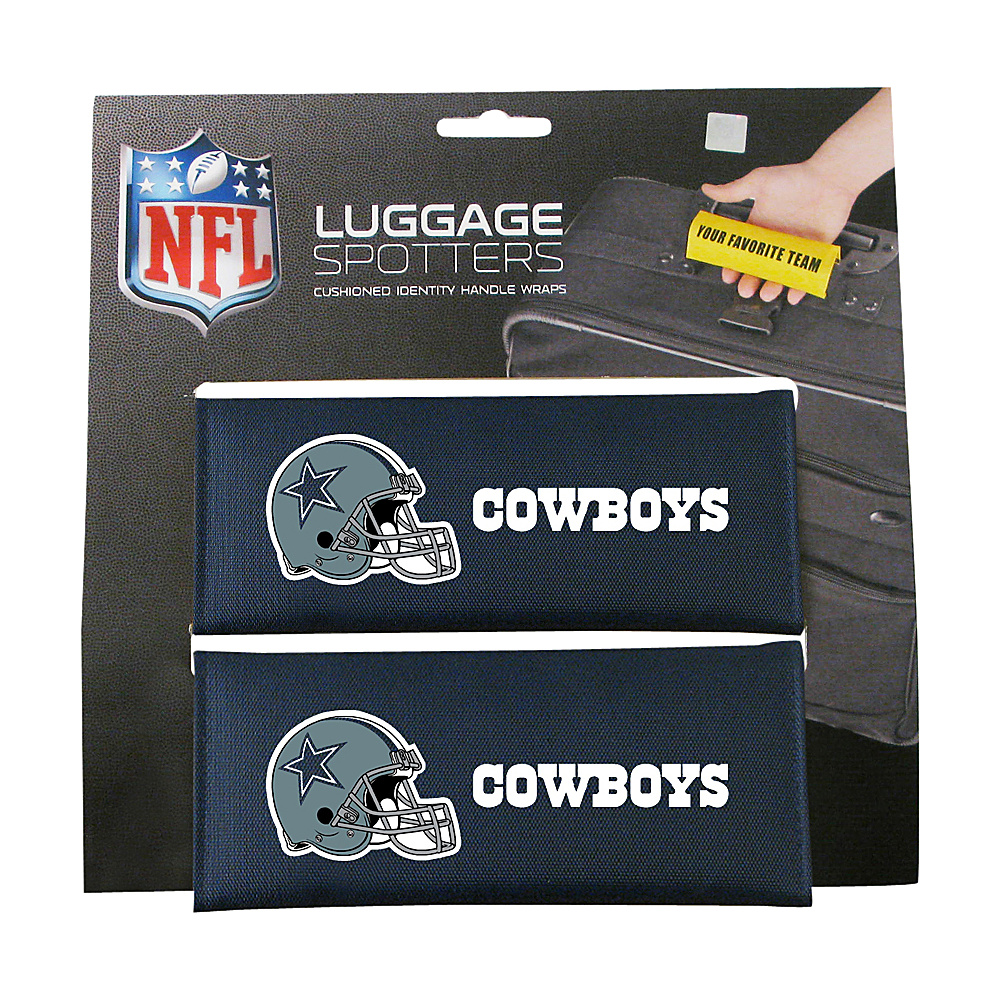 Luggage Spotters NFL Dallas Cowboys Luggage Spotter Blue Luggage Spotters Luggage Accessories