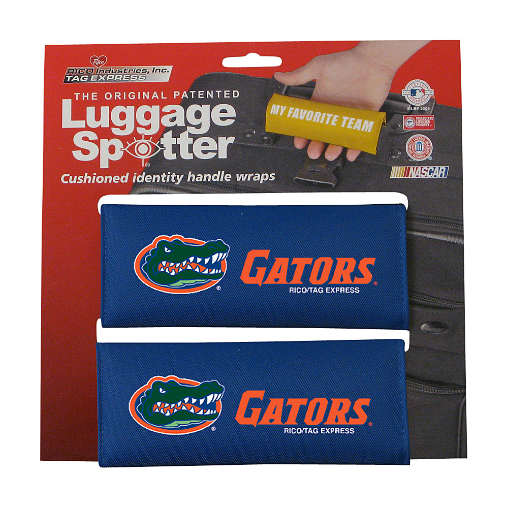 Luggage Spotters NCAA Florida Gators Luggage Spotter Blue Luggage Spotters Luggage Accessories