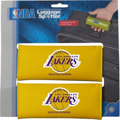 Luggage Spotters NBA LA Lakers Luggage Spotters Yellow - Luggage Spotters Luggage Accessories