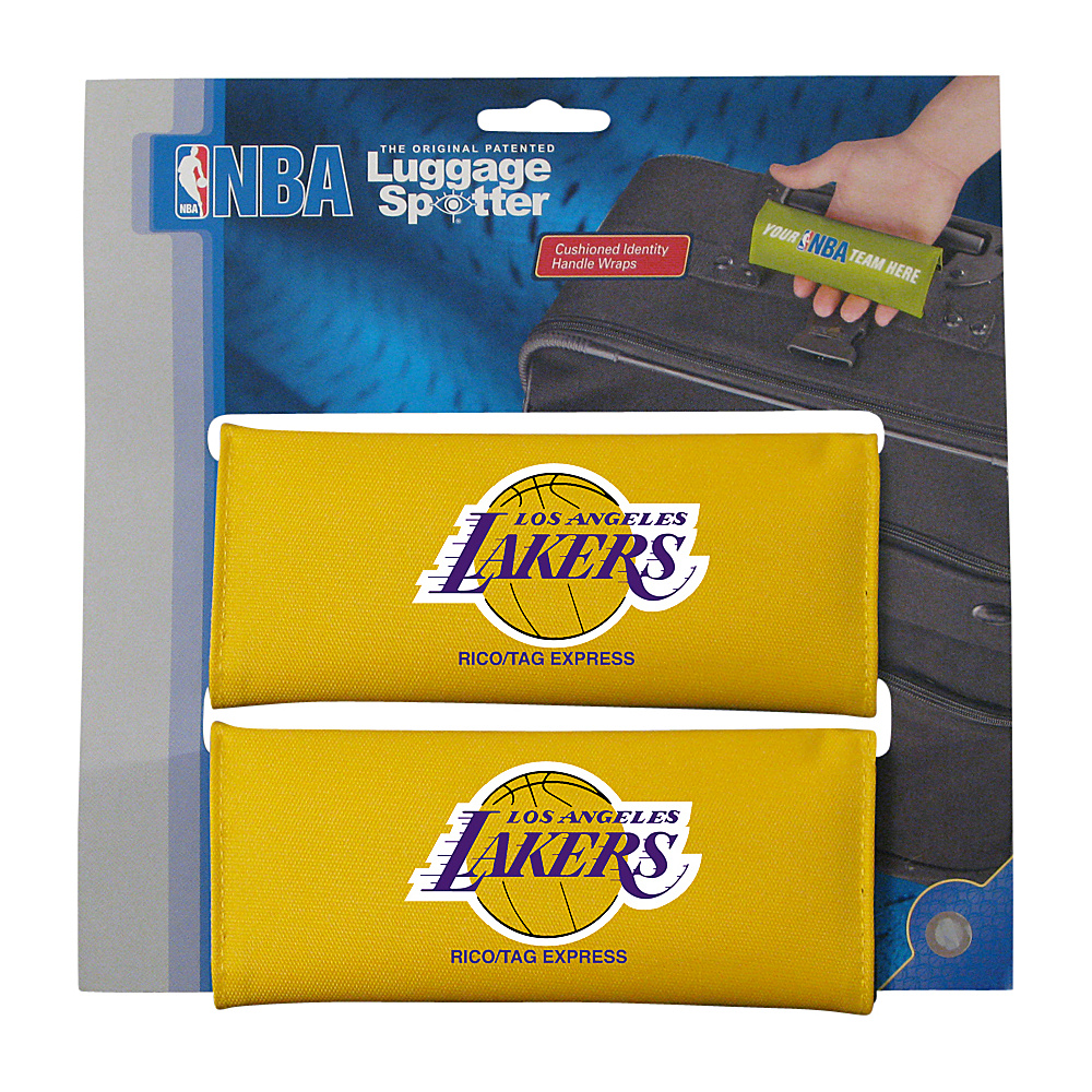 Luggage Spotters NBA LA Lakers Luggage Spotters Yellow Luggage Spotters Luggage Accessories
