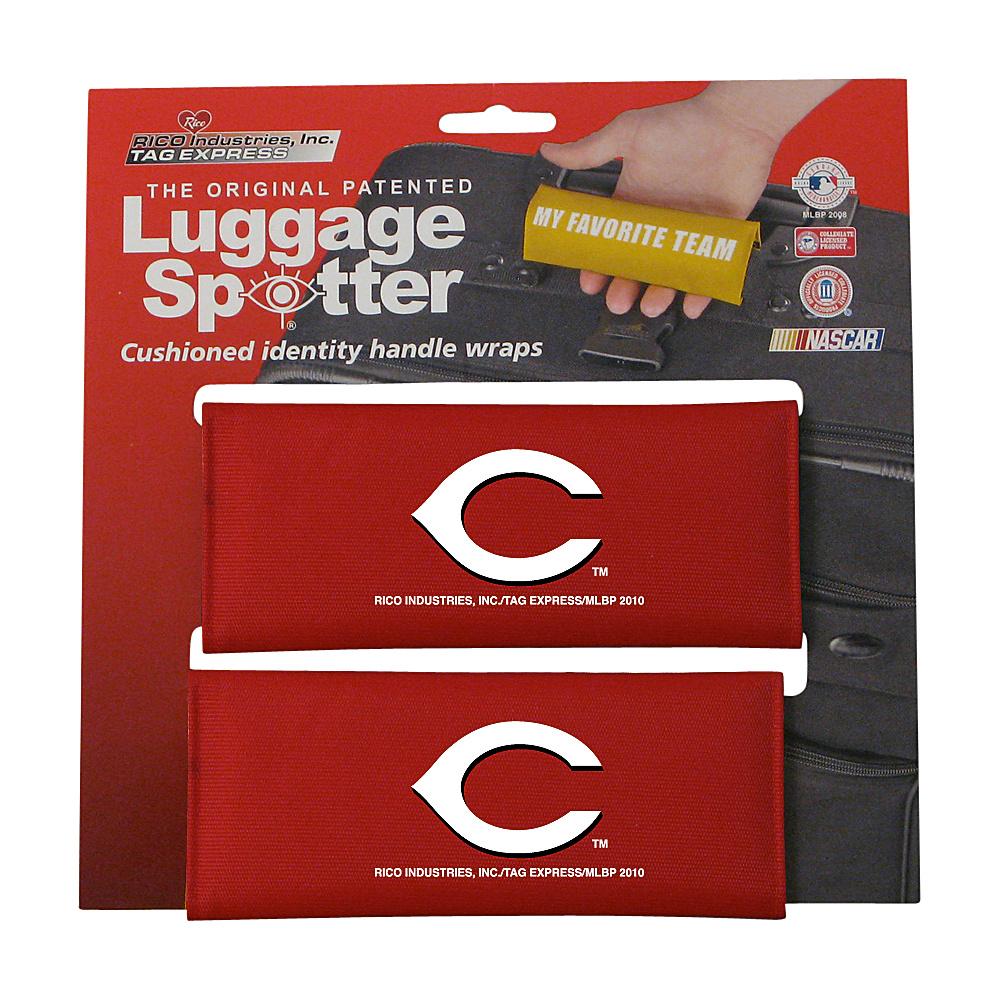 Luggage Spotters MLB Cincinnati Reds Luggage Spotter Red Luggage Spotters Luggage Accessories