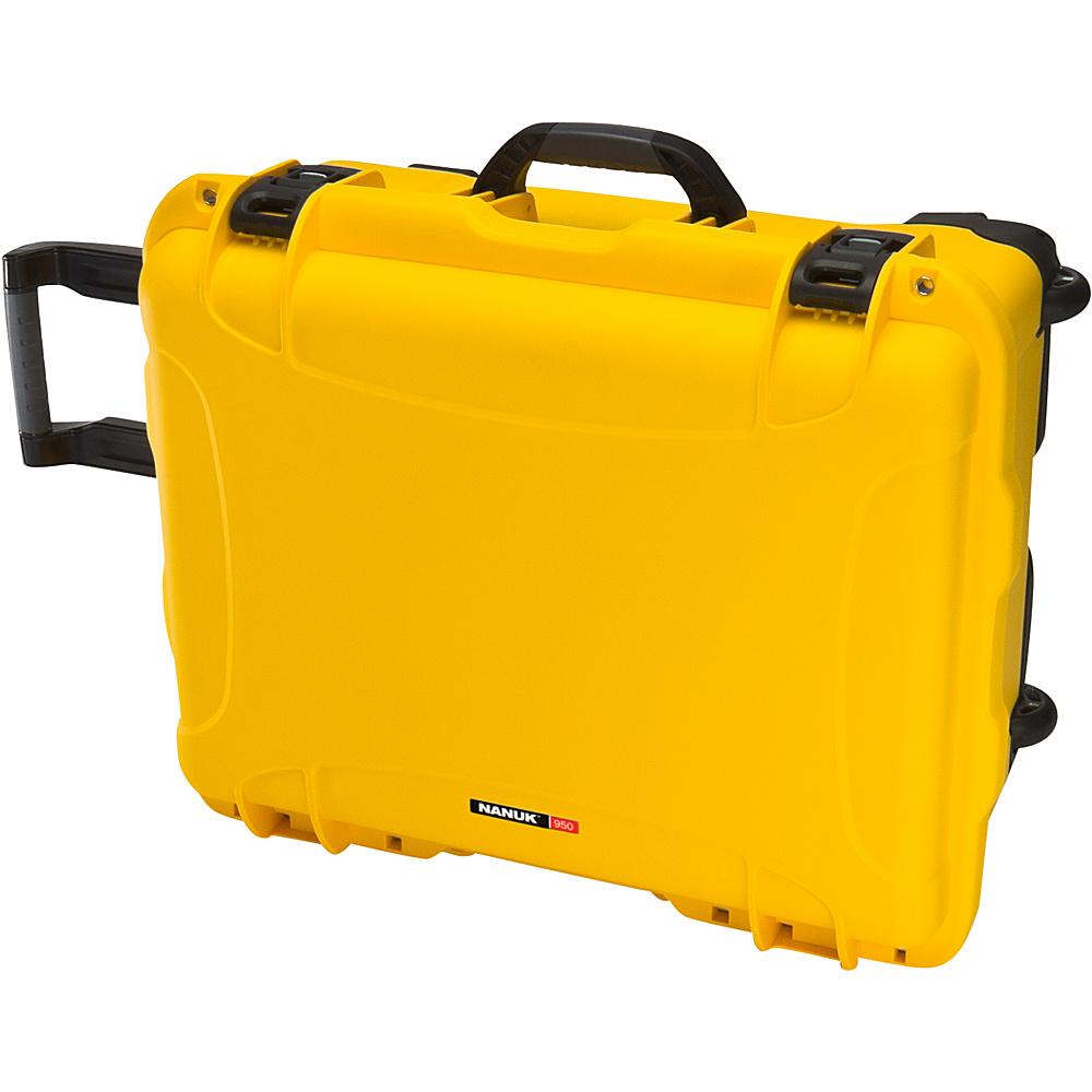 NANUK 950 Case Empty Yellow NANUK Hardside Luggage