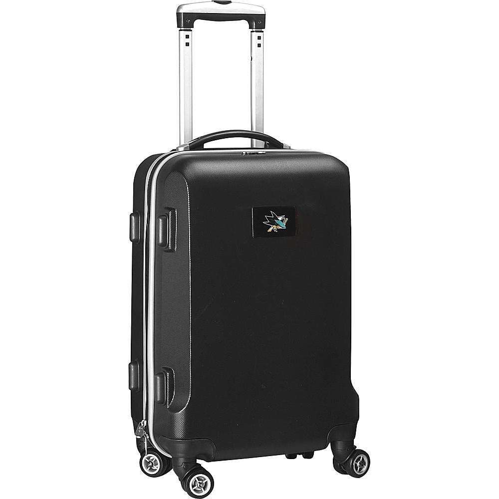 Denco Sports Luggage NHL 20 Domestic Carry-On Black San Jose Sharks - Denco Sports Luggage Hardside Carry-On - Luggage, Hardside Carry-On