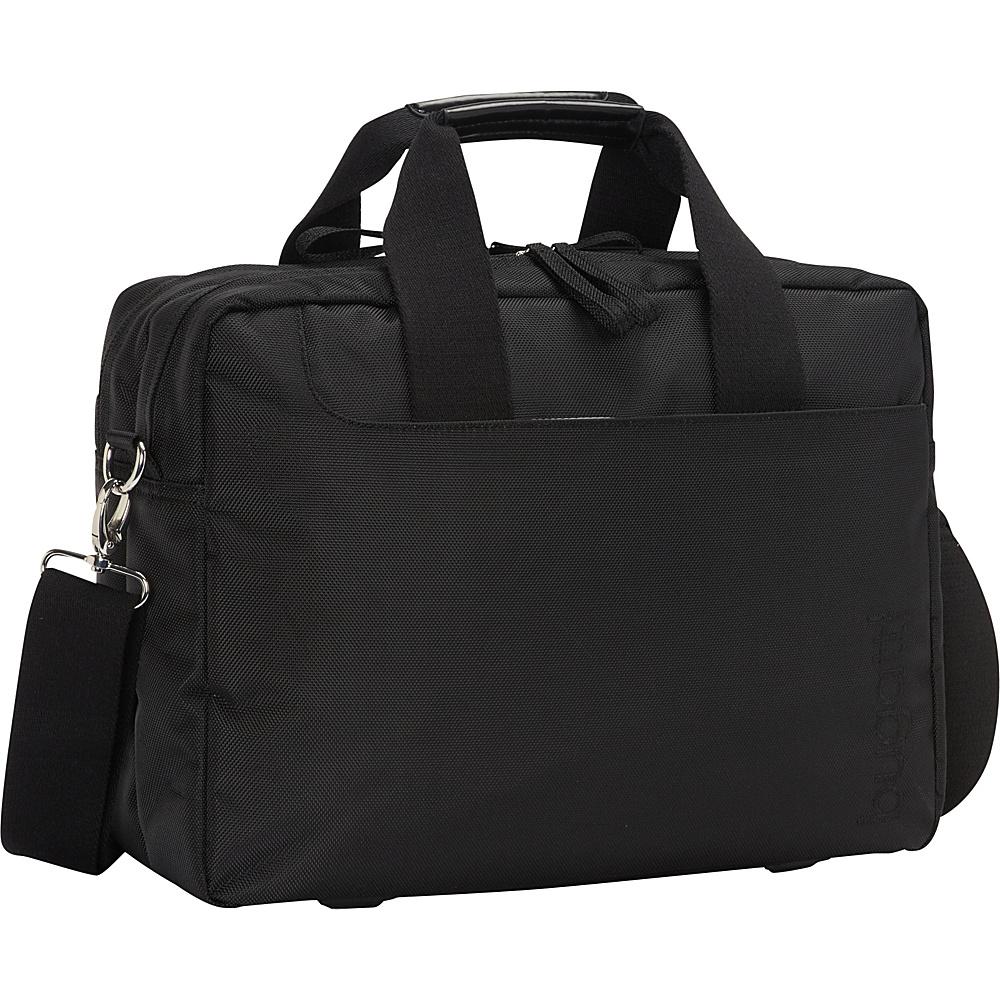 Bugatti Jason Laptop Briefcase Black Bugatti Non Wheeled Business Cases