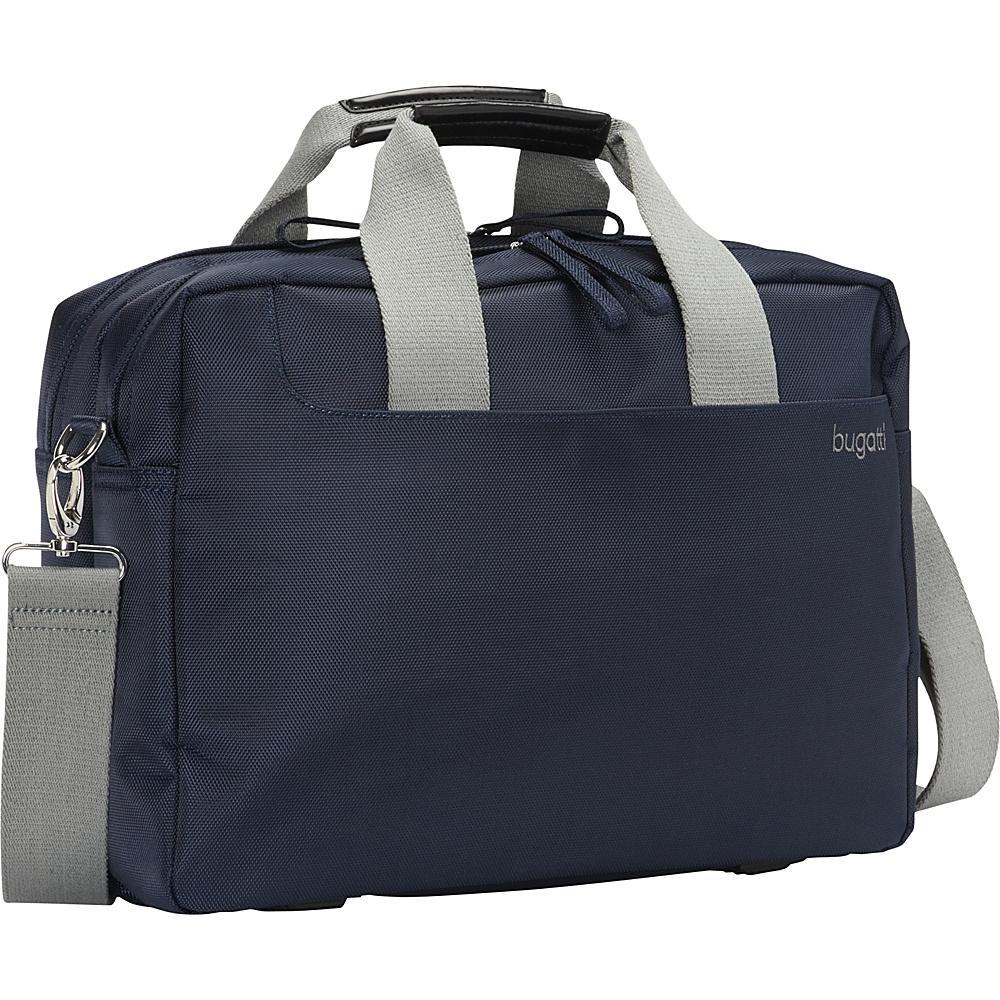 Bugatti Jason Laptop Briefcase Blue Bugatti Non Wheeled Business Cases