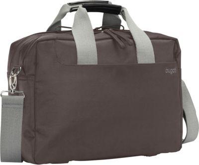 Bugatti Jason Laptop Briefcase Grey - Bugatti Non-Wheeled Business Cases