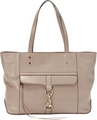 Rebecca Minkoff Bowery Tote Taupe - Rebecca Minkoff Designer Handbags