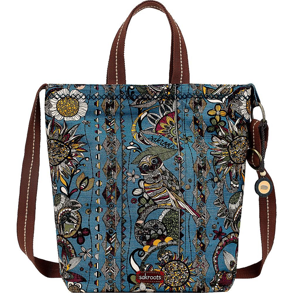 Sakroots Artist Circle Campus Tote Lagoon Spirit Desert - Sakroots Fabric Handbags