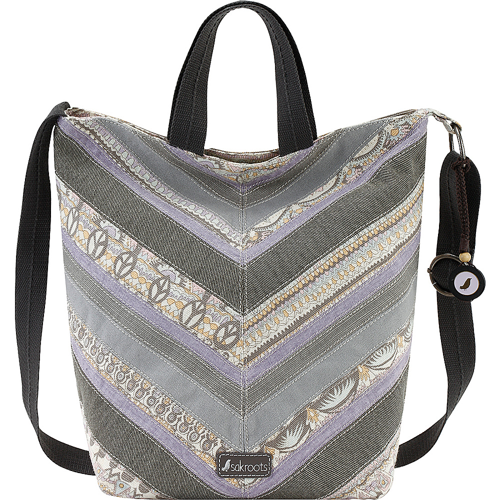 Sakroots Artist Circle Campus Tote Pastel One World - Sakroots Fabric Handbags - Handbags, Fabric Handbags