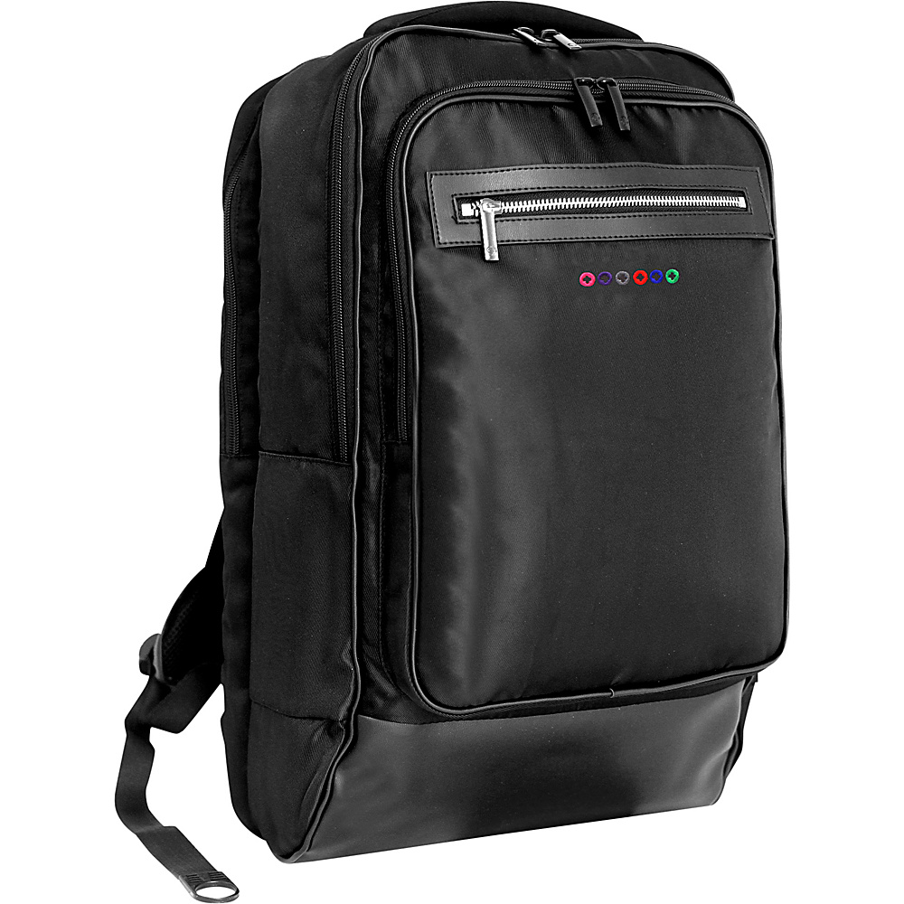 J World New York Project Laptop Backpack Black J World New York Business Laptop Backpacks