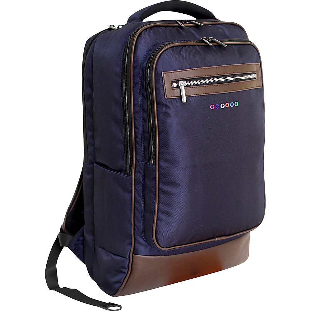 J World New York Project Laptop Backpack Navy J World New York Business Laptop Backpacks