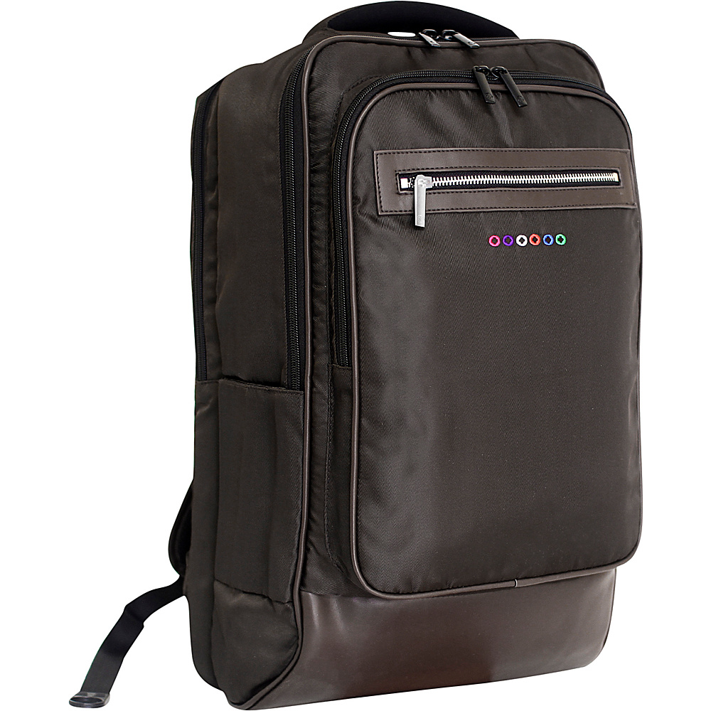 J World New York Project Laptop Backpack Brown J World New York Business Laptop Backpacks