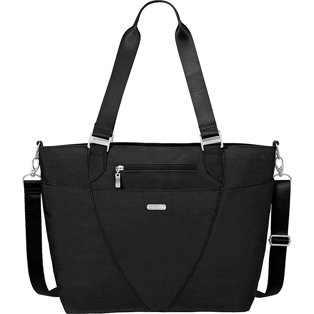 baggallini Avenue Tote Black/Sand - baggallini Fabric Handbags - Handbags, Fabric Handbags