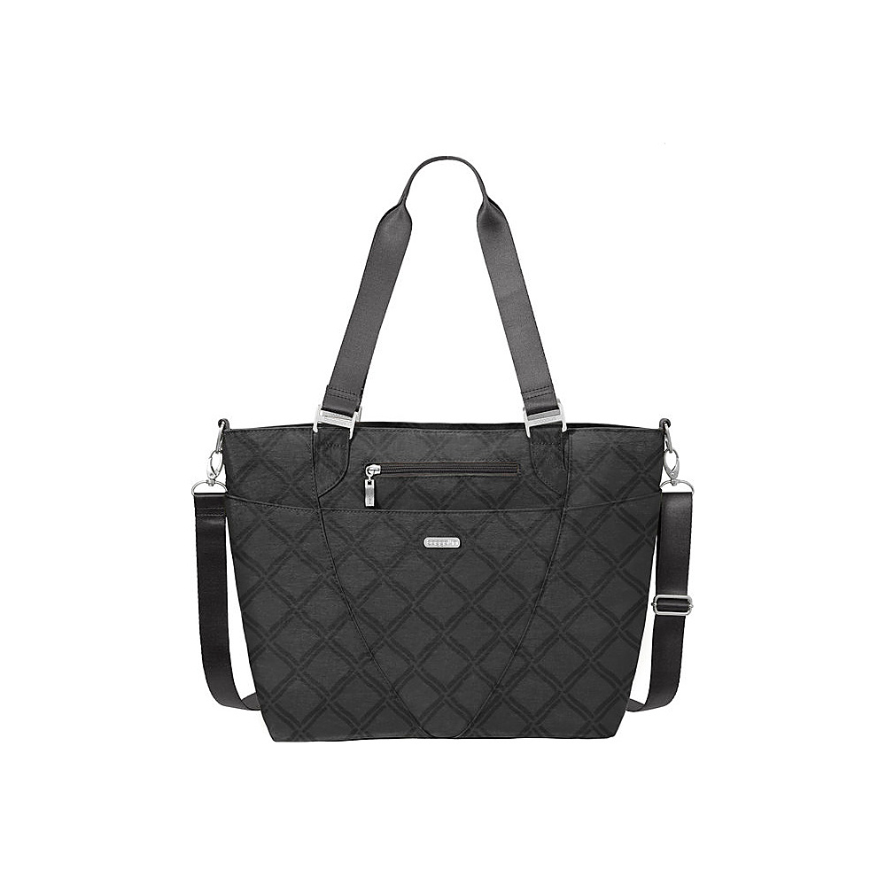 baggallini Avenue Tote Charcoal Link - baggallini Fabric Handbags - Handbags, Fabric Handbags