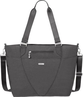 baggallini Avenue Tote Charcoal - baggallini Fabric Handbags