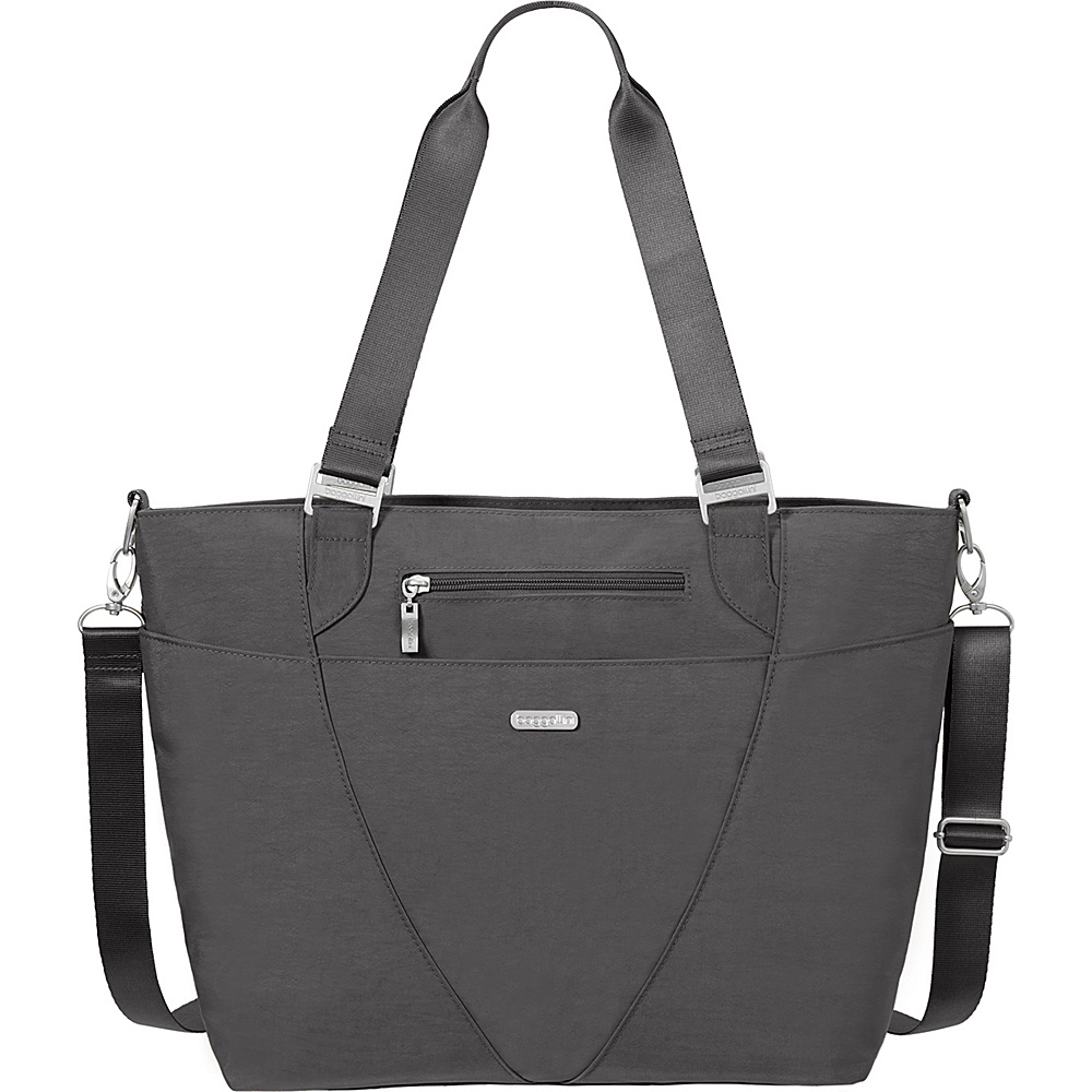 baggallini Avenue Tote Charcoal - baggallini Fabric Handbags