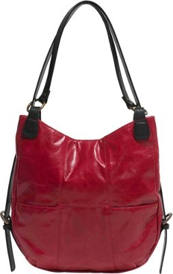Ellington Handbags Chelsea Backpack Handbag Red - Ellington Handbags Leather Handbags