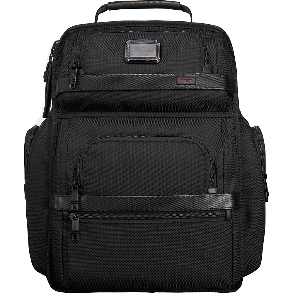 Tumi Alpha 2 Tumi T-Pass Business Class Brief Pack Black - Tumi Business & Laptop Backpacks