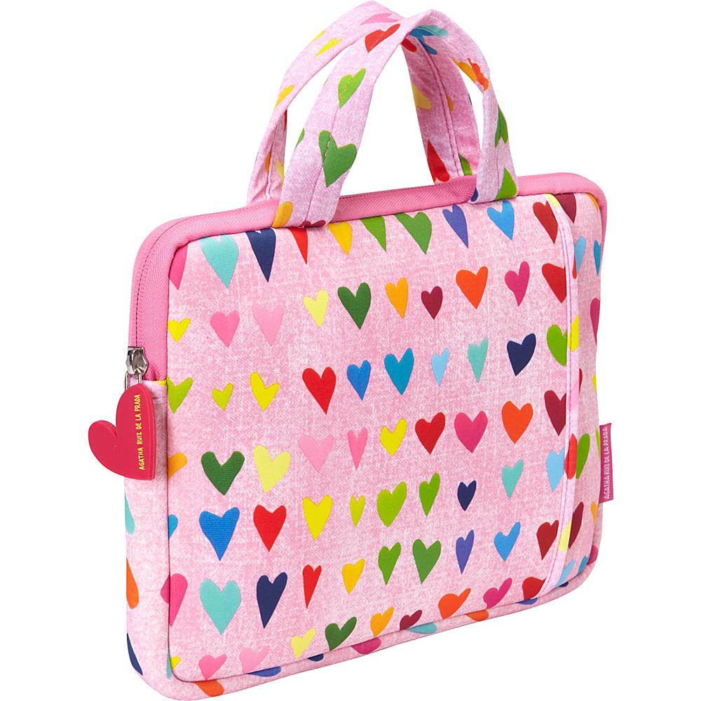 Miquelrius Agatha Ruiz de la Prada Tablet Skin w handles 10 Pink Rain Pink Rain Miquelrius Electronic Cases