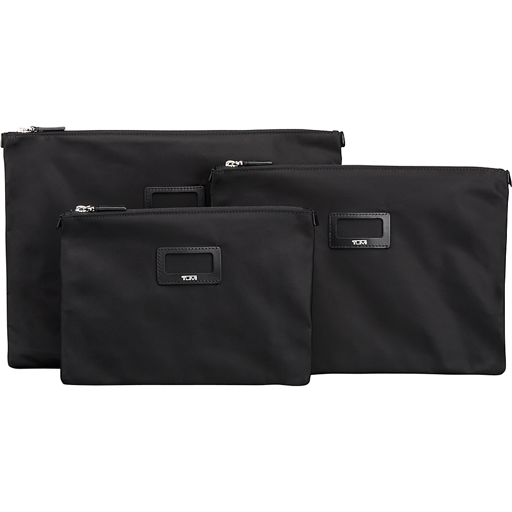 Tumi Journey 3 Pouch Set Black - Tumi Travel Organizers - Travel Accessories, Travel Organizers
