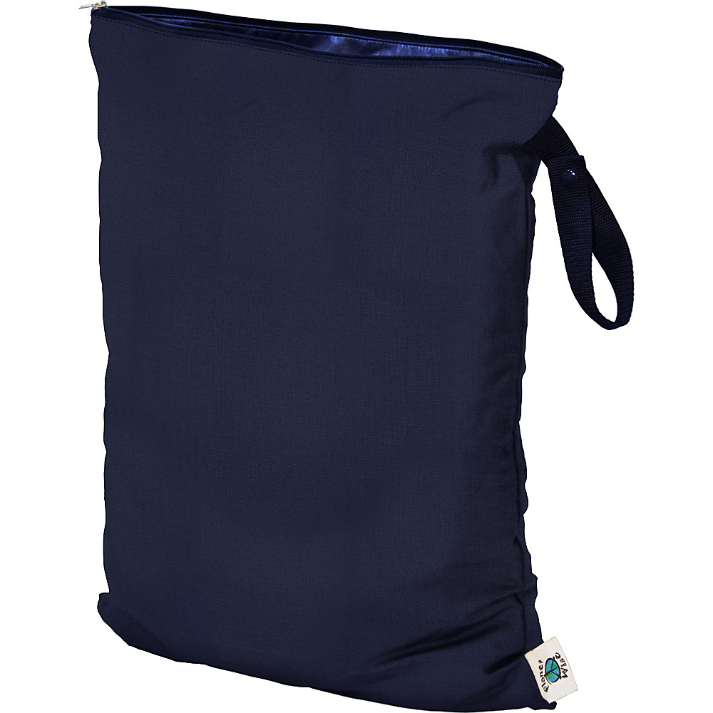 Planet Wise Large Wet Bag Navy Planet Wise Diaper Bags Accessories