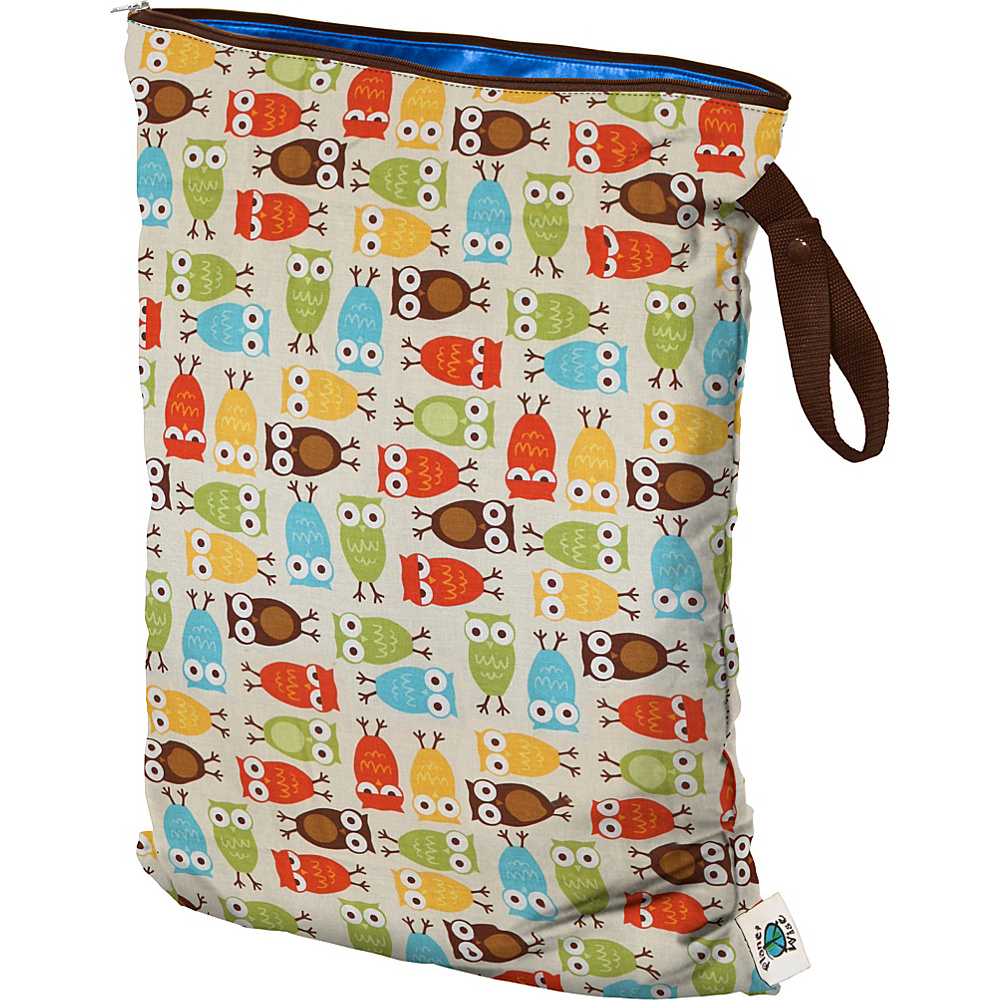Planet Wise Large Wet Bag Owl Planet Wise Diaper Bags Accessories
