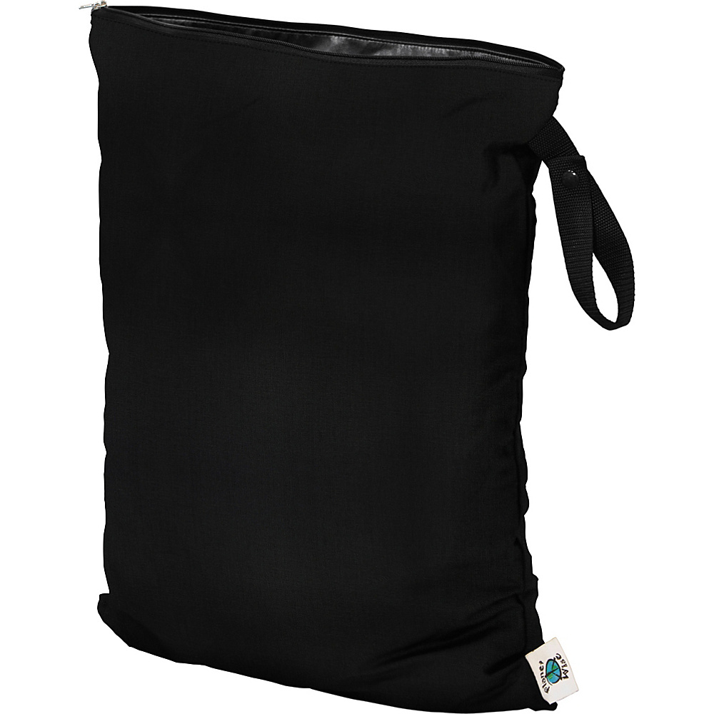 Planet Wise Large Wet Bag Black Planet Wise Diaper Bags Accessories