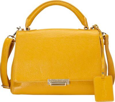 Donna Bella Designs Jasmine Tote Yellow - Donna Bella Designs Leather Handbags