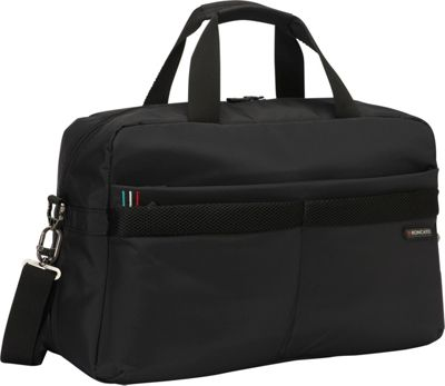 Roncato Expandable Carry-on Duffle Black - Roncato Rolling Duffels