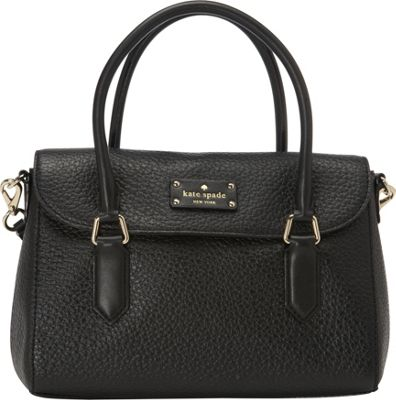 kate spade new york Grove Court Small Leslie Crossbody Black - kate spade new york Designer Handbags