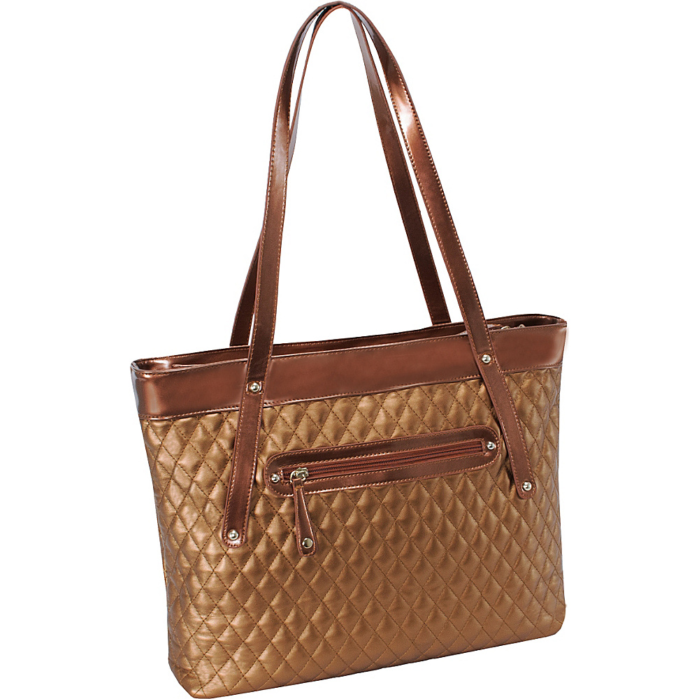 Parinda Fiona Tote Bronze Parinda Fabric Handbags