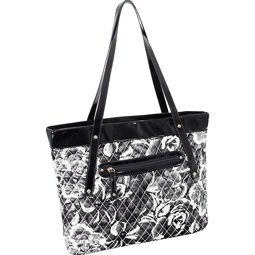 Parinda Fiona Tote Grey Parinda Fabric Handbags