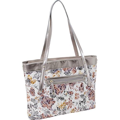 Parinda Fiona Tote Brown - Parinda Fabric Handbags
