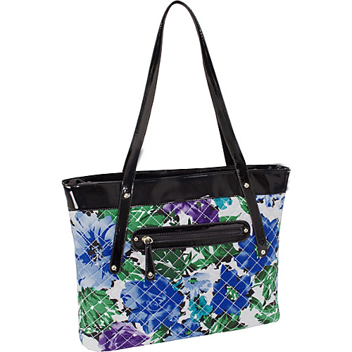Parinda Fiona Tote Blue - Parinda Fabric Handbags